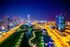Central Park em Incheon, Coreia do Sul Central Park Imagens de Stock Royalty Free