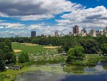 Central Park em New York Fotos de Stock