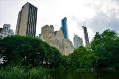 Central Park em um dia de verão, New York City fotografia de stock royalty free