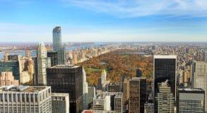 Central Park en el día soleado, New York City Imagen de archivo