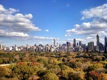 Central Park en la caída Imagen de archivo libre de regalías