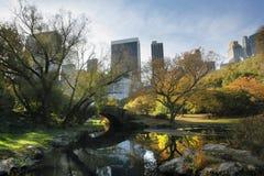 Central Park en NYC Foto de archivo libre de regalías