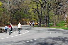 Central Park en resorte Fotografía de archivo