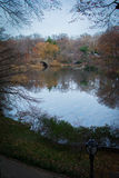 Central Park in the fall Stock Photos