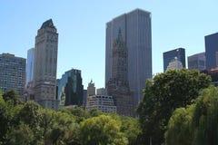 Central Park fjäder Royaltyfri Fotografi