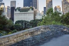 Central Park Gapstow bridge Stock Photography