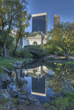 Central Park Gapstow bridge Royalty Free Stock Images