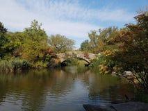 Central Park gapstow bridge royalty free stock photos