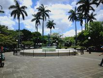 Central Park Heredia, Costa Rica Lizenzfreies Stockfoto