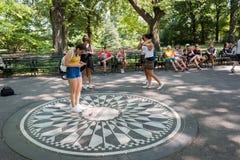 Central Park i New York City NYC Arkivfoton