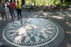 Central Park i New York City NYC Royaltyfria Foton