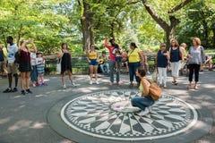 Central Park i New York City NYC Royaltyfri Bild