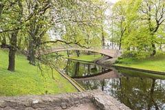 Free Central Park In Riga City By Spring, Latvia Stock Photo - 54024390