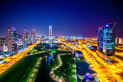 Central Park in Incheon, South Korea. Central Park. Royalty Free Stock Images