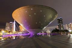 Central Park in internationalem Geschäft Incheon Südkorea Songdo Lizenzfreies Stockfoto