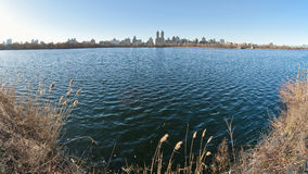Central Park, Jacqueline Kennedy Onassis Reservoir Stock Photos