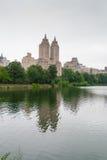 Central Park jezioro, NYC Fotografia Royalty Free