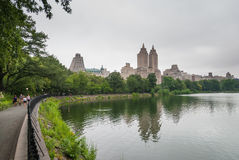 Central Park jezioro, NYC fotografia stock