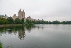 Central Park jezioro, NYC obraz royalty free