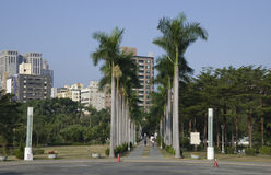 Central Park Kaohsiung Taiwan Royalty Free Stock Image