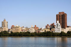 Central park lake Stock Photography