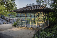 Central Park  at the lake Royalty Free Stock Photography