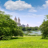 Central Park The Lake Manhattan New York Royalty Free Stock Photo