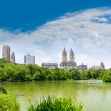 Central Park The Lake Manhattan New York Royalty Free Stock Images
