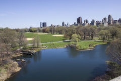 Central Park-Landschaft Stockfotografie