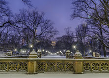 Central Park Mall Royalty Free Stock Photography