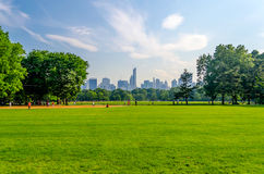Central Park Manhattan Royaltyfria Foton