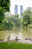 Central Park, Manhattan Stock Photo