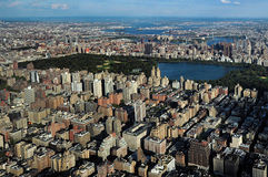 Central Park in Manhattan New York City Stock Photo