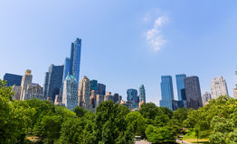 Central Park Manhattan New York US Royalty Free Stock Photography