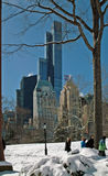 Central Park Manhattan New York USA royalty free stock image