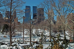 Central Park Manhattan Nowy Jork usa obrazy royalty free
