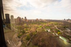Central Park, Manhattan, Nueva York, América Imágenes de archivo libres de regalías