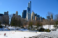 Central Park, Manhattan, NYC Royalty Free Stock Photo