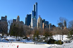 Central Park, Manhattan, NYC Royalty Free Stock Photo