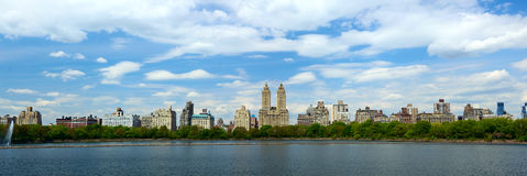 Central Park and Manhattan panorama Royalty Free Stock Photos