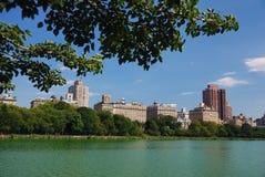 Central Park Manhattan skyline Royalty Free Stock Photo
