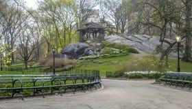 Central Park, Miasto Nowy Jork wiosna Obrazy Royalty Free