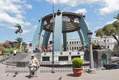 Central Park mit Kiosk in San Jose, Costa Rica lizenzfreies stockbild