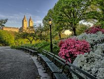 Central Park, molla di New York Fotografia Stock Libera da Diritti