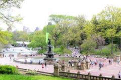 Central Park na mola Fotos de Stock Royalty Free