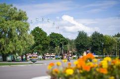 Central Park named after Belousov. Stock Photography