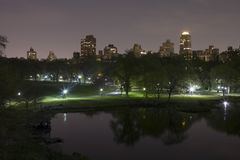 Central Park New York Royalty Free Stock Image