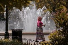 Central Park New York stockbild