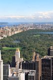Central Park a New York Fotografie Stock