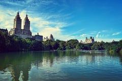 Central Park New York Royaltyfria Foton
